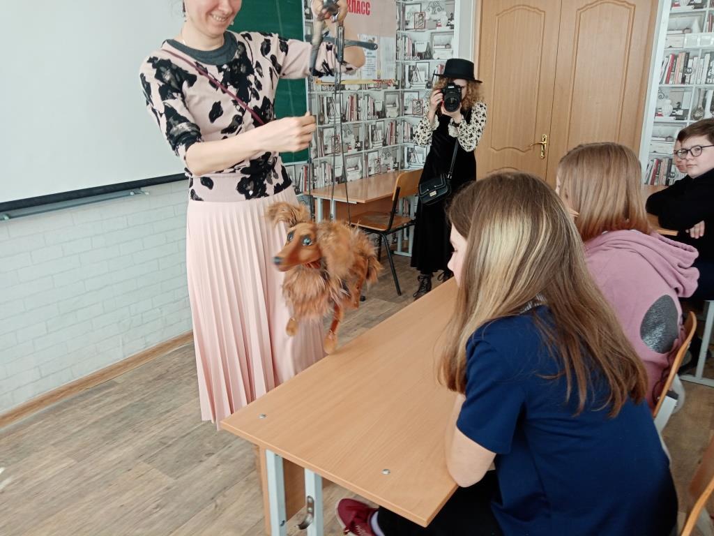 Встреча с работниками Рязанского театра кукол